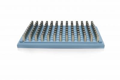 96孔深孔板磁力架  适配底部有插入空间的深孔板